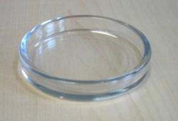Untersetzer 70 mm Ø transparent
