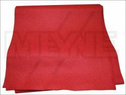 Mechanikfilz -Rot- 1 mm 150 x 20 cm