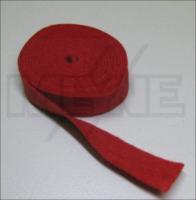 Zierleistenfilz Rot -----1 mm----- 127 x 1,5 cm