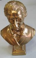Schubert - 17 cm Gold bronziert