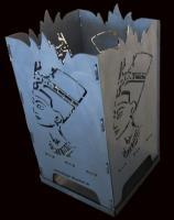 Design Fire Basket Ägypten/Nofretete